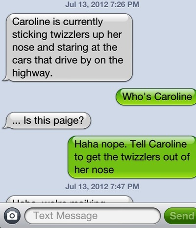 witty responses to texts