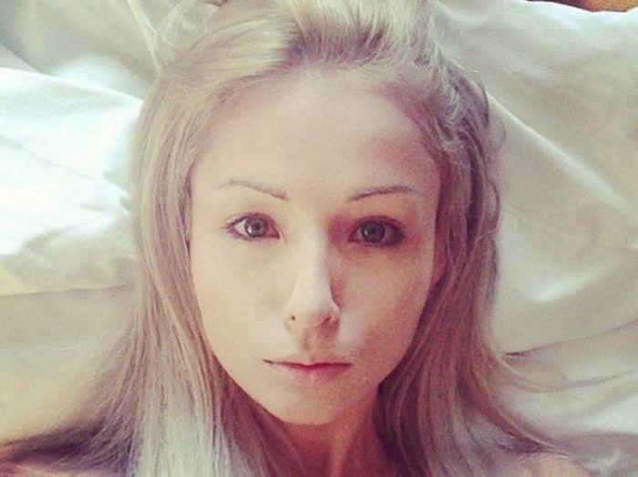 ukrainian barbie girl 11 - Human Barbie Without Makeup