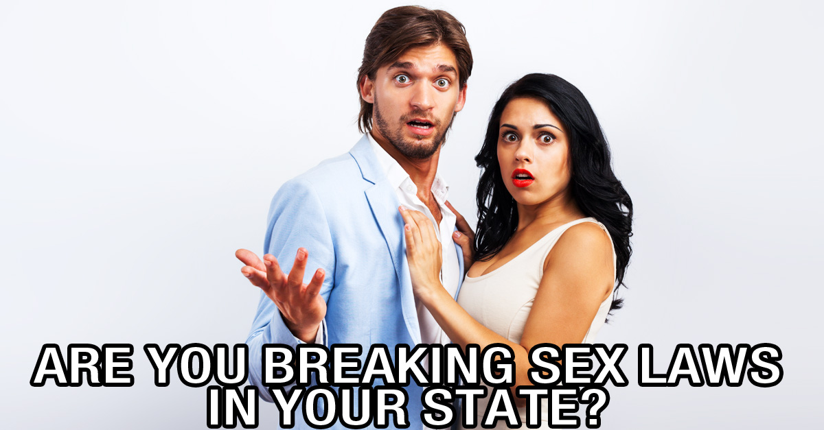 Funny sex laws in the us