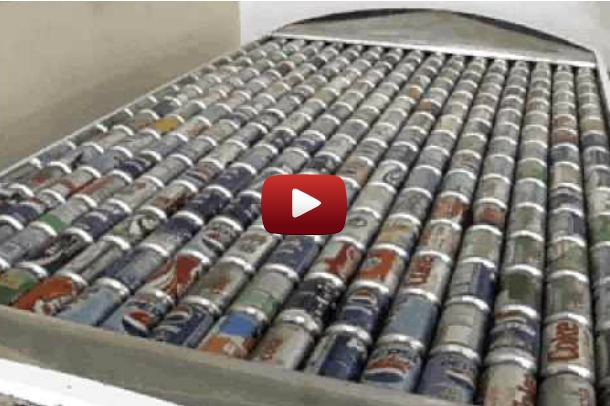 Solar panels made of pop cans heat homes at almost no cost 22 words - How to make a solar panel out of soda cans ...